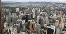 Ausblick vom Menara Fernsehturm