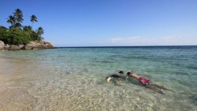 Johor: Bademöglichkeiten, Strände und Inseln