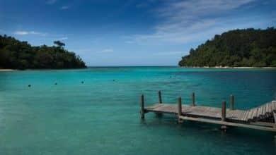 Blaue Lagune in Negeri Sembilan