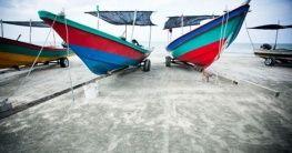 Fischerboot in Pahang