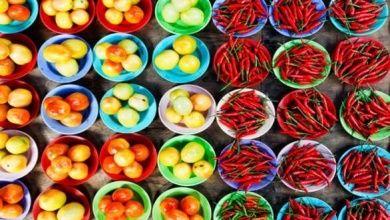 Gemüse in Sarawak
