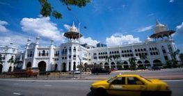 Taxi in Kala Lumpur